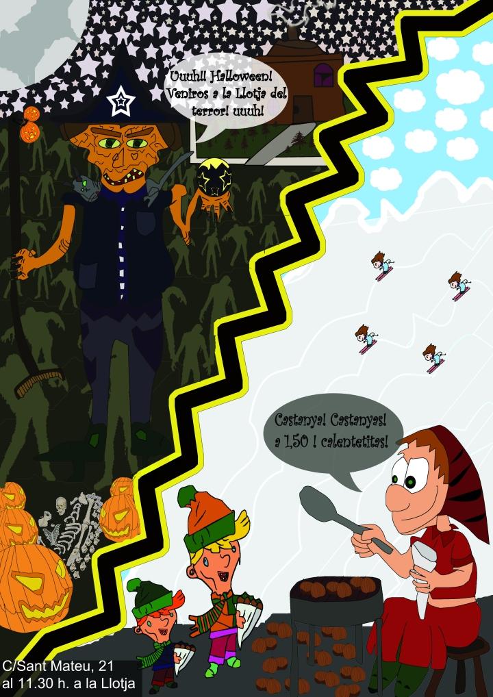 Halloween y la Castañada.