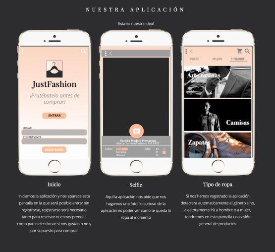 La APP de Just Fashion